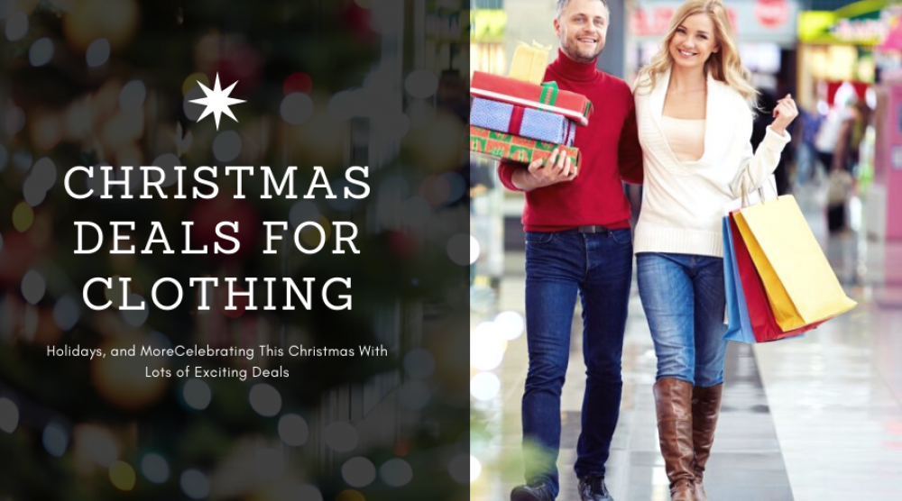 Couponsexperts Brought To You Christmas Deals For Clothing,