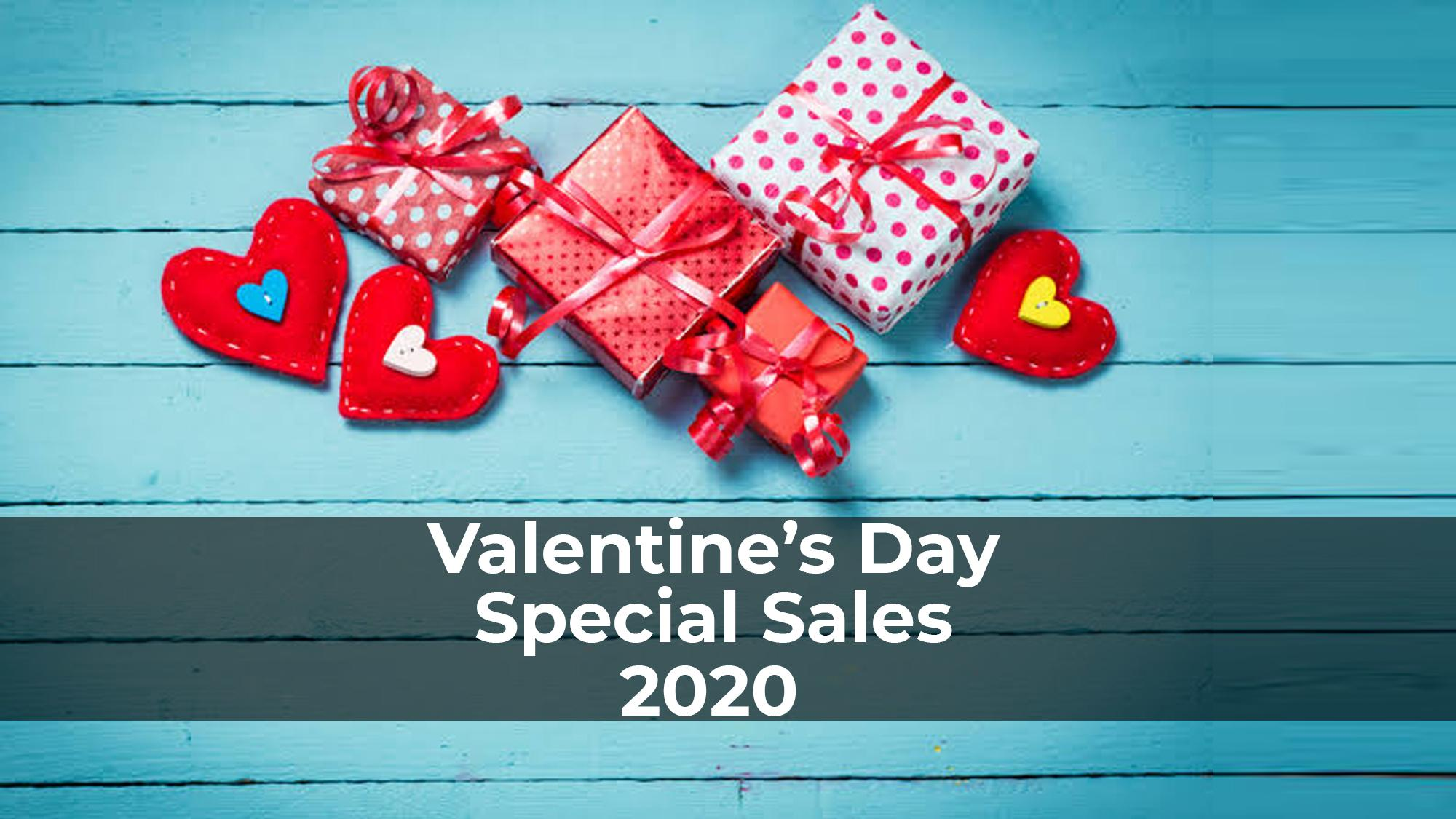 Valentine's Day Special Sales 2020