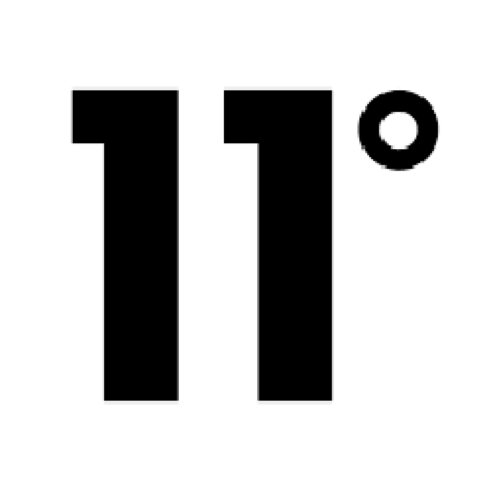 11 Degrees