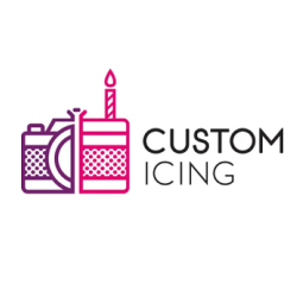 Custom Icing: 15% OFF Edible Printed Wafer Cupcake Toppers